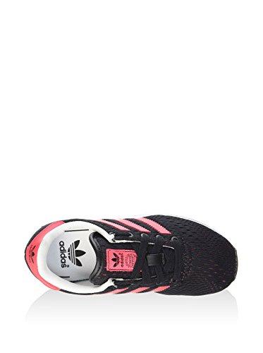 adidas Unisex-Kinder La Trainer Em Sneaker, Schwarz/Rosa, 36 EU