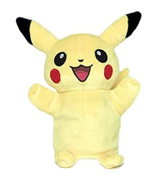 pokemon pikachu puppet 10 inch new with tags amazon co uk toys games