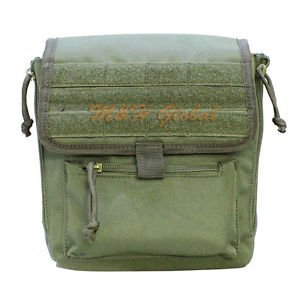 Large Utility Binocular Pouch Bird Watching Hunting Camping MOLLE PALS - OD Green