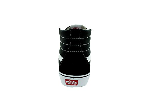 Vans U Sk8 Hi - Baskets Mode Mixte Adulte, Noir (Noir/Blanc), 45