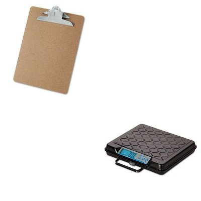KITSBWGP100UNV40304 - Value Kit - Salter Brecknell Portable Electronic Utility Bench Scale (SBWGP100) and Universal 40304 Letter Size Clipboards (UNV40304) by Salter Brecknell