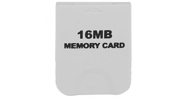 Amazon.com: Tarjeta de memoria de 16 MB para Nintendo Wii ...