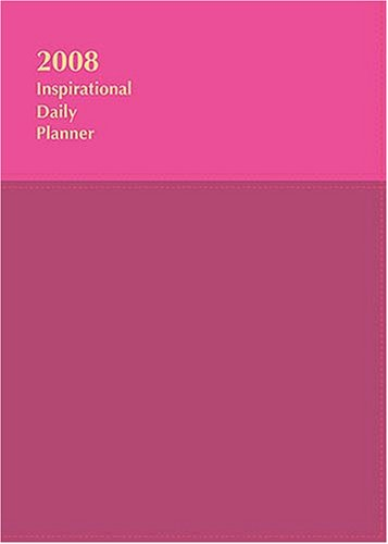 An Inspirational Daily Planner 2008: Plum/Violet, Imitation Leather by Thomas Nelson Inc