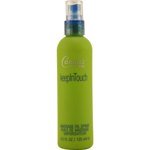- Candies by Liz Claiborne Massage Oil Spray for Men, 4.2 Ounce