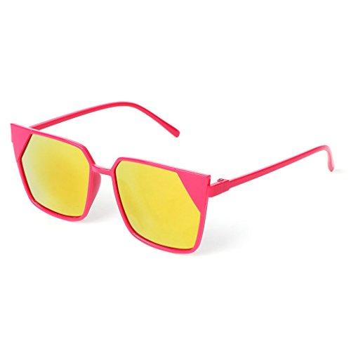 de JAGENIE 11 sol UV400 11 venta cuadradas protección Gafas marco de espejo para CwwZra5xTq