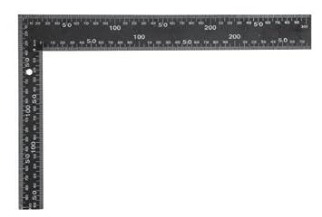 Cool VOREL 18200 Winkel, Stahl, 600 x 400 mm, quadratisch - Schwarz  XT91