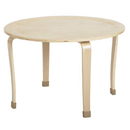 ECR4Kids 30'' Round Bentwood Activity Play Table, 20''H by ECR4Kids