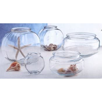 Tom tominaga oscar atobl10rpet plastic bowl for Plastic fish bowls