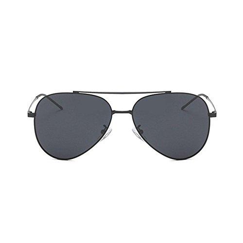 DZW Les nouveaux hommes polarisés lunettes de soleil mode , gray green