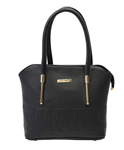 Lady Bar Women Hand Bag Purse  138  Black