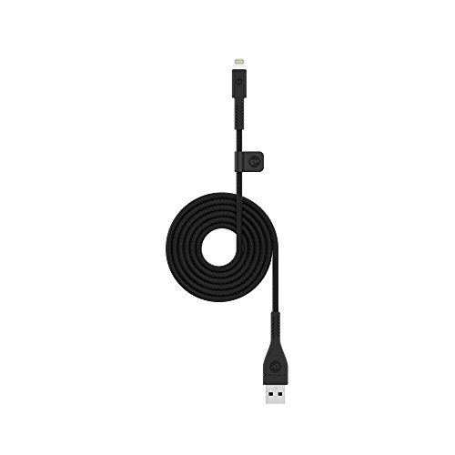 mophie 1.2 Meter PRO Cable - MFI Certified Lightning Cable Made for Apple iPhone, iPad, iPad Pro and iPod Devices - Black