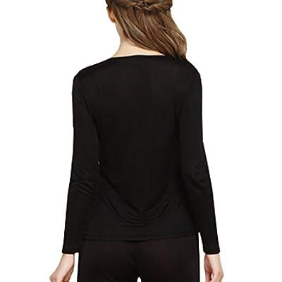 Fashion Silk Women's Silk Thermal Underwear Sets | Silk Long Johns for Women | Silk Long Underwear Sets at Women's Clothing store