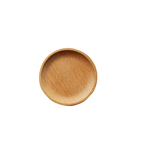 Loune Week square plates Round/Square Wood Cake Dishes Home/Hotel/School Dessert Serving Tray Wood Sushi Plate Dinnerware Tableware -