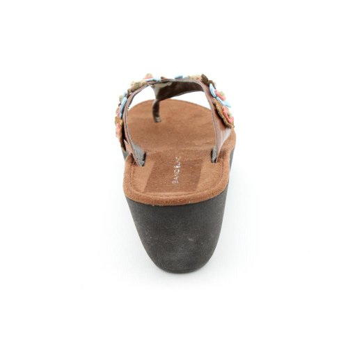 Bandolino Barrington Thong Sandaal, Cognac Multi, 6 M Us