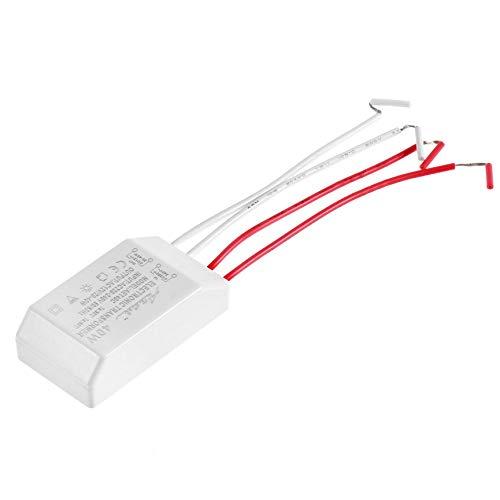 LED transformador pr/áctico de salida AC//DC 12V 40W LED de la l/ámpara hal/ógena Transformador electr/ónico Fuente de alimentaci/ón Adaptador conductor