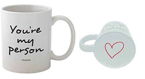 Funny Guy Mugs You re My Person Ceramic