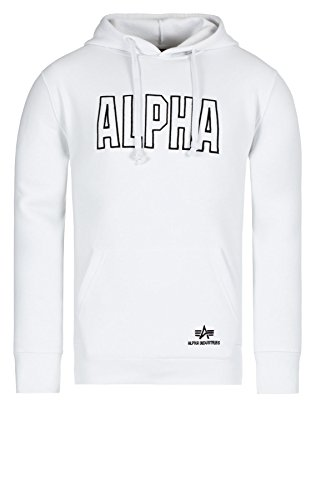 Alpha Industries Track Hoody Sweats à capuche Whit