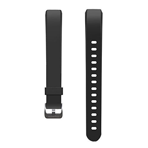 MorePro Waterproof Health Tracker Band, Adjustable Replacement Accessories Classic Sport Strap, Black
