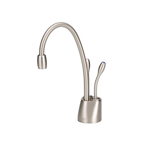 - InSinkErator F-HC1100SN Faucet, 19 x 11.3 x 3.6 inches, Satin Nickel