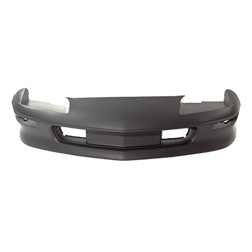 CarPartsDepot, 2 Door Convertible Front Bumper Cover Primered Black Facial Cover, 352-15107-10-PM 10248139 GM1000157