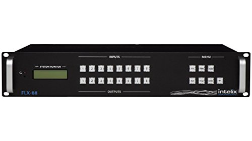 Intelix Flexible Card-Based Matrix Switcher - 8 Input x 8 Output FLX-88