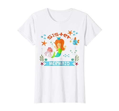 SISTER MERMAID T-Shirt Your Sister Mermaid Shirt