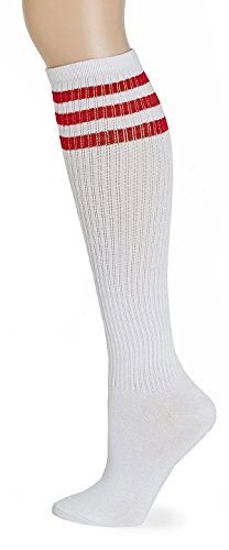 22e2365df Leotruny Classic Triple Stripes Socks. Review - Leotruny Classic Triple Stripes  Knee High Tube Socks