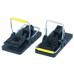 Kness SNAP-E Mouse / Mouse Control Easy Set Re-usuable  Snap Traps, Twin (Kness Mouse Trap)