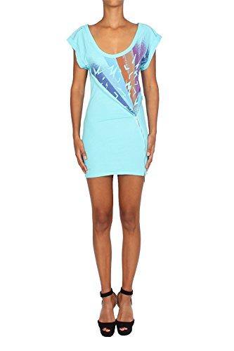 PEPE JEANS - Women's Dress WHAM - blue, M (Jeans Dresses Pepe)