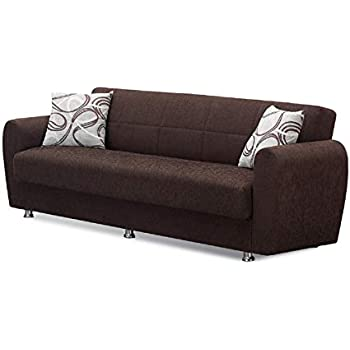 Amazon.com: Alfa Sofa Bed in Redeyef Brown: Kitchen & Dining
