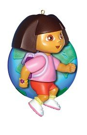 Dora the Explorer Collectible Christmas Ornament by Carlton Cards