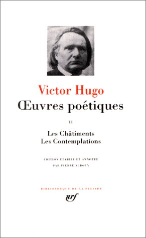 Hugo : Oeuvres poetiques, tome 2 (French Edition) Bibliotheque de la Pleiade (Hugo Art Limited Edition)