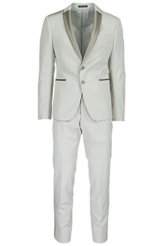 Armani Suit (Emporio Armani Men's Suit Original Smoking Tuxedo Grey US Size 50 (US 40) W1VMXKW1503110)