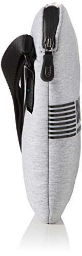 BOSS Green Pixel Jn_s Zip Env - Borse a spalla Uomo, Grigio (Medium Grey), 1x24x20 cm (B x H T)