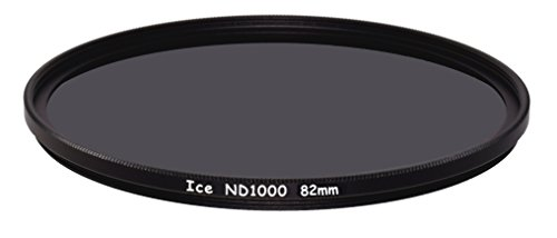 ICE 82mm ND1000 Filter Neutral Density ND 1000 82 10 Stop Optical Glass by Ice