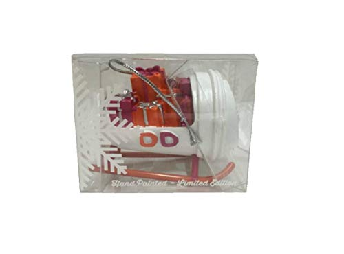 Dunkin Donuts 2015 Christmas Holiday Ornament Sleigh Coffee -