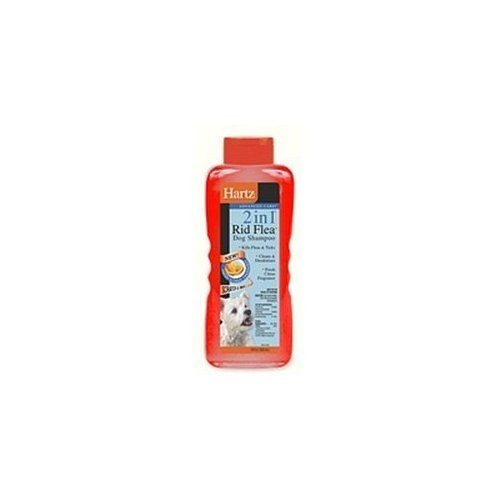 Hartz 02299 Advanced Care® 2 In 1® Rid Flea™ Dog Shampoo