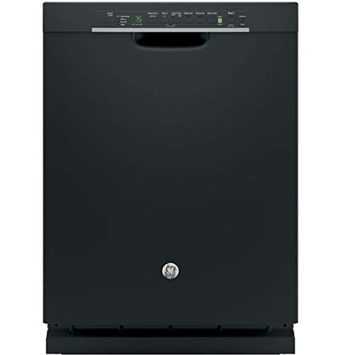 GE GDF650SGJBB 24' Built In Full Console Dishwasher with 4 Wash Cycles, in Black