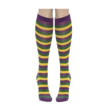 Forum Novelties Womens Funny Casual Cotton Crew Socks, Multi, One Size -