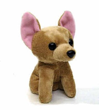 Brown Chihuahua - Fuzzy Town Mini Brown Chihuahua