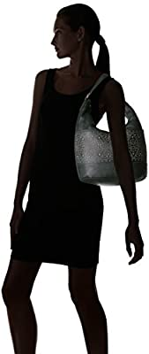 Calvin Klein Avery Pebble Stud Embellished Hobo