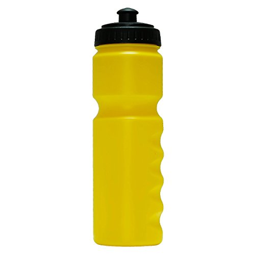 Free Bicycle Bike Water Bottle 26OZ,Non-slip Grip(Yellow) ()