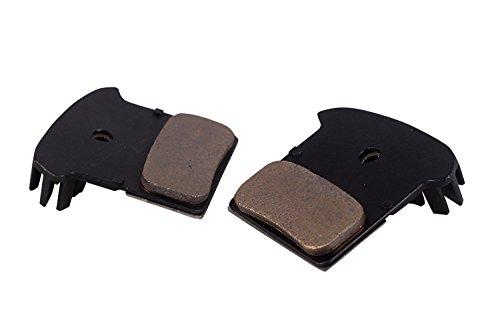Bicycle brake pad for Shimano XTR BR-M9000, Shimano XTR BR-M9020, Shimano XTR BR-M987, Shimano XTR BR-M985, Shimano Deore XT BR-M785, Shimano SLX BR-M675, Shimano Deore BR-M615, Shimano BR-RS785