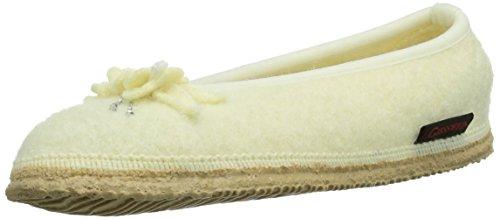 Giesswein Lachendorf - Zapatillas de estar por casa Mujer Blanco