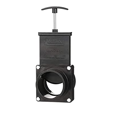 "Valterra 3"" RV Waste Dump Gate Valve 3-Inch Hub x 3-Inch Spigot Connection: Automotive"