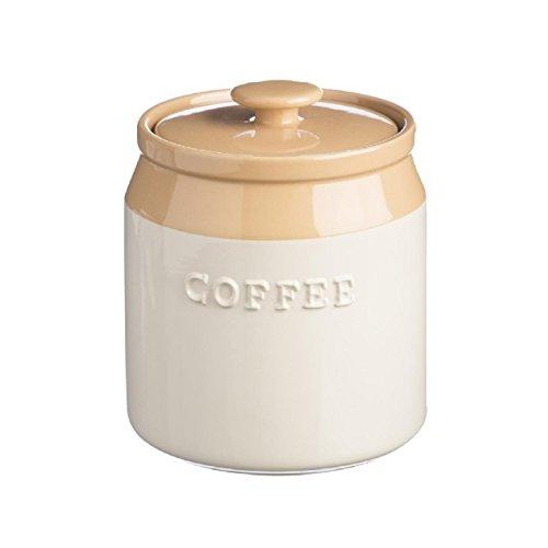 Mason Cash Cane Stoneware Coffee Jar, 1-1/4-Quarts