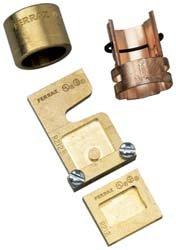 Mersen J646 Class J Rejection Fuse Reducer, 600V, 400 Ampere Fuse to Fit 600 Ampere clip