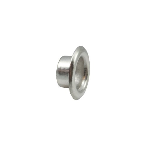 """Springfield Leather Company 5/16"""" Nickel Plate Short Eyelets 100 Pack"""