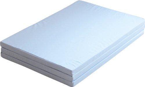 エムール 日本製 ソフラン 変形四つ折りアンダーマットレス ダブル 160N 綿100% ブルー B0065FVAGW 03.ダブル|02.綿100% ブルー 02.綿100% ブルー 03.ダブル