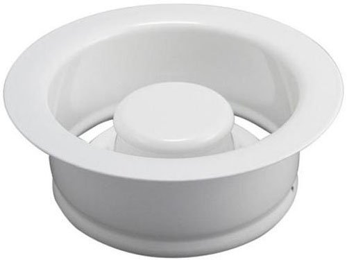 ge Disposal Flange and Stopper, White (White Flange)